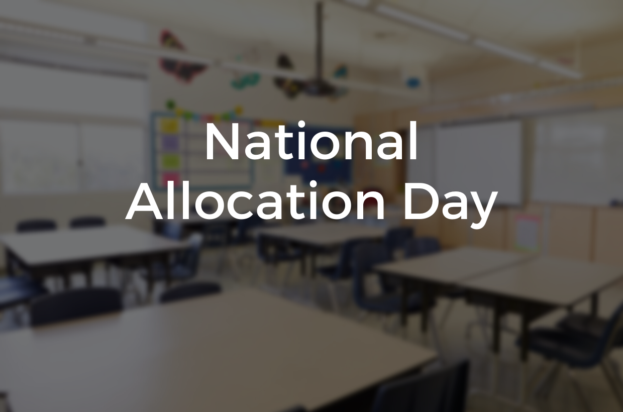 Welcome to St Mary's! National Allocation Day 2020